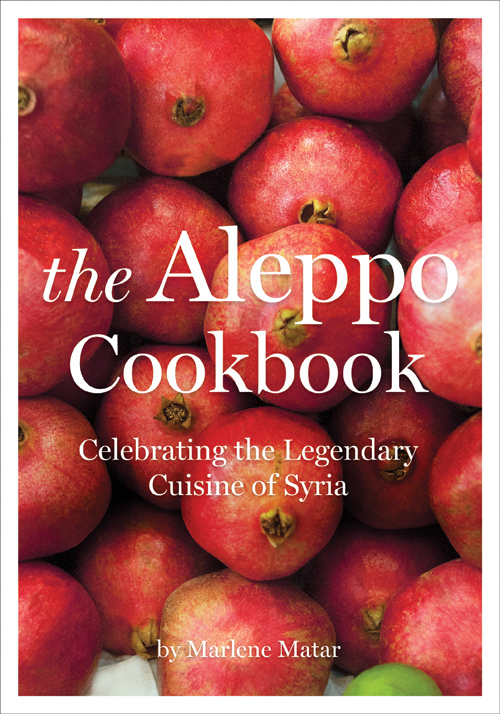 The Aleppo Cookbook cover